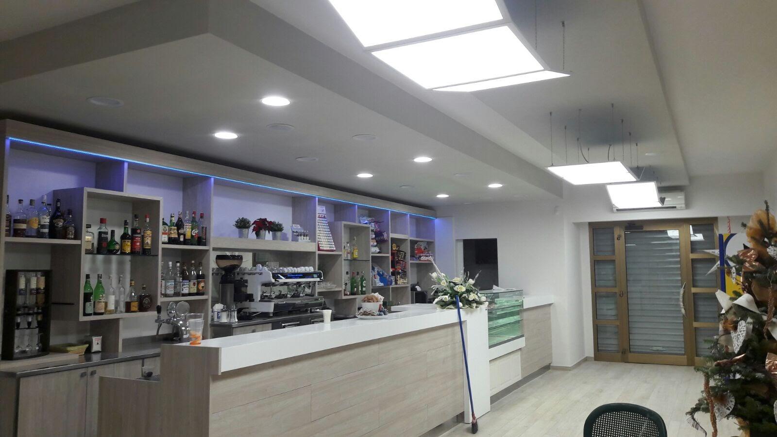 Illuminazione a led bar cascina seti impianti